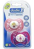 Dodie- 2 Sucette Anatomique +18 mois FILLE PRINCESSE/DANSEUSE  A47