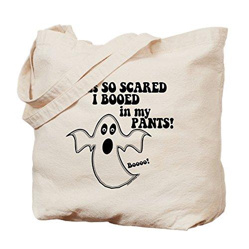 CafePress Lustige Halloween-Ghost Tragetasche, canvas, khaki, S