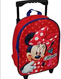 Minnie Mouse Trolley Rucksack 2 in 1 Kinderkoffer mit Ziehgriff Disney Mini 6956