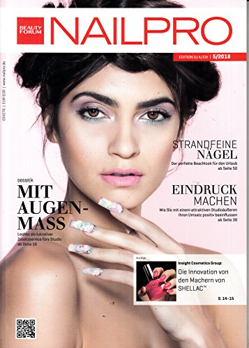 Nailpro Beauty Forum 5 2018 Strandfeine Nägel Zeitschrift Magazin Einzelheft Heft Kosmetik
