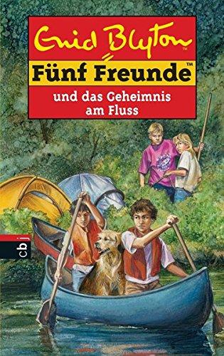 Buchseite und Rezensionen zu 'Fünf Freunde und das Geheimnis am Fluss (Einzelbände, Band 47)' von Enid Blyton