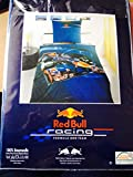 Bettwäsche Red Bull Racing Formel 1 Bezug 140x200cm Kissen 70x90cm 100% Baumwolle Sebastian Vettel