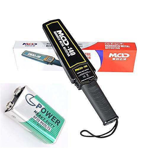 ZQYR CAMERA# Super Hand Metall Detektor Sicherheit & Scaner mit Summer/Erschütterung LED Alarm auf der Suche nach, Flughafen und Grenze, Pakete und Buchstaben, Model: MCD-140