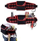 Porta Herramientas Cinturón Bolsa Herramientas con Varios Compartimientos Ajustable Impermeable para Electricistas Técnicos
