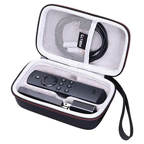 LTGEM Eva-Hartschalen-Schutzhülle für Fire TV Stick mit Alexa Sprachfernbedienung/Streaming-Media-Player, Aufbewahrungstasche