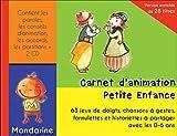 Carnet d'Animation Petite Enfance V2 (Livre + CD)