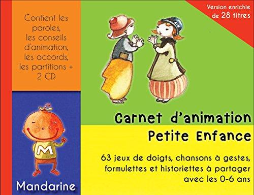 Carnet D'animation Petite Enfance V2 (Livre + CD (