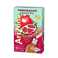 Arizona Pomegranate Green Iced Tea Stix Sugar Free - 1 oz - 10 ct