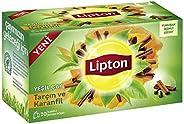 Lipton Tarçın Karanfilli Bardak Poşet Yeşil Çay 20