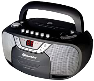 Roadstar RCR-4620CD Lecteur CD Tuner FM/MW Noir Mat