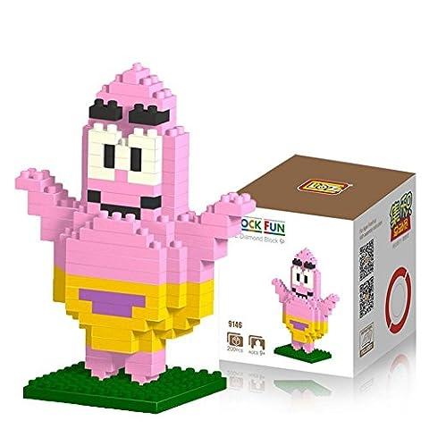 Katara DIY Block-Set zum Aufbauen Spongebob Schwammkopf