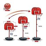 Paniers-mobilesFiner-Shop-Un-63-150cm-Panneau-de-Basket-Plastique-pour-EnfantAdulte-panier-basket