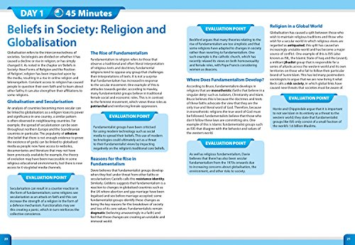 Letts A-level Revision Success - AQA A-level Sociology Year 2 In a Week