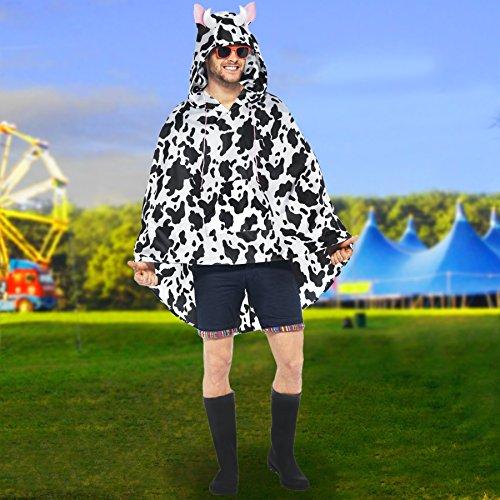 Preisvergleich Produktbild Kuh mit Kapuze Poncho