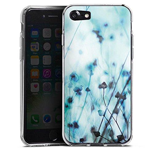 Apple iPhone X Silikon Hülle Case Schutzhülle Natur Wiese Feld Silikon Case transparent
