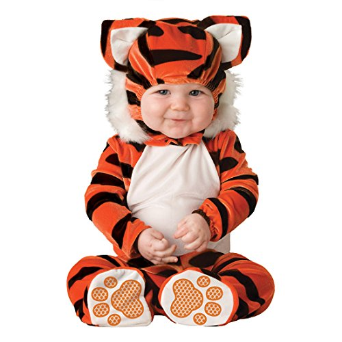 YYF Baby Jungen Mädchen Kleinkinder Animal Kostüm Halloween Party Jumpsuit Winter Strampler Tiger 90cm