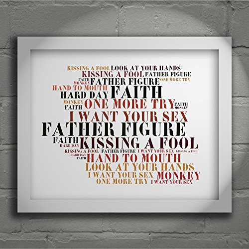stoned-love-art-print-george-michael-faith-signed-numbered-limited-edition-typography-unframed-10x8-