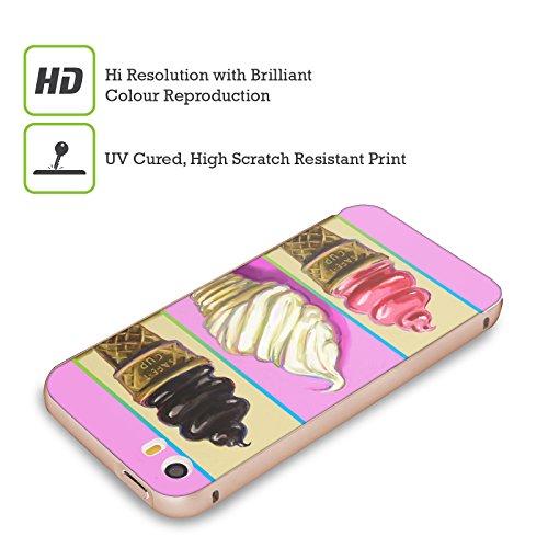 Ufficiale Howie Green Cupcake Cosmico Cibo E Bevande Oro Cover Contorno con Bumper in Alluminio per Apple iPhone 5 / 5s / SE Coni Pop