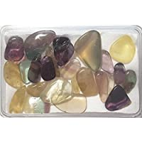 KRIO® - schöner Regenbogenfluorit/Fluorit in Kunststoffdose liebevoll abgepackt preisvergleich bei billige-tabletten.eu