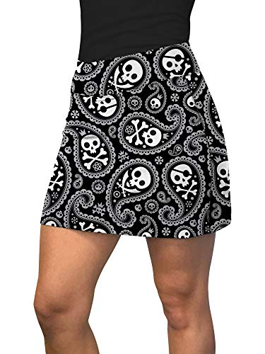 Loudmouth Golf Shorts (Loudmouth Golf Shiver Me Timbers Active Skort - Mehrfarbig - X-Klein)