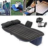 ~ Car Aufblasbare Reise-Camping Sitzschlafenrest Matratze Luftmatratze mit 2 Kissen