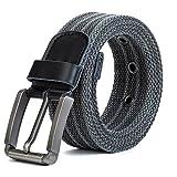 ITIEZY Herren Stoffgürtel, Gurtband Leinwand Canvas Gürtel Sportswear Outdoor Casual Gürtel für Jungen und Männer