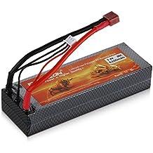 FLOUREON® 7,4V 5200mAh Lipo RC Akku Pack mit Deans-T Stecker für RC Evader BX Auto Car Truck LKW Truggy RC Hobby