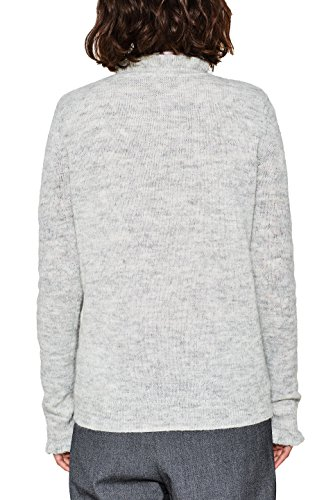 ESPRIT Collection Damen Pullover Grau (Pastel Grey 5 054)