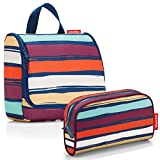 reisenthel Exklusiv-Set: wh3058 toiletbag Artist Stripes Plus GRATIS ls3058 makeupcase Artist...