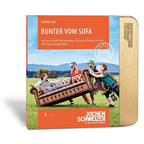 Jochen Schweizer Erlebnis-Box 'Runter vom Sofa'