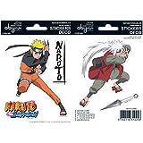"AbyStyle Naruto Shippuden ""Naruto/Jiraiya Aufkleber (Mehrfarbig)"