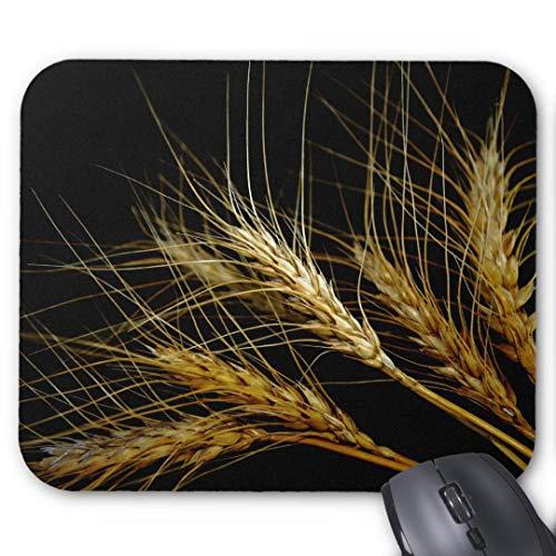 Amber Wave (Mauspad mit seidenweicher Textiloberfl?che - Mouse Pad Paradise (antistatische Wirkung - perfekte Gleiteigenschaft PC / Computer Mousepad)-amber waves of grain wheat)