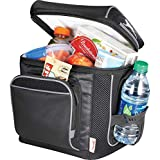 AUS Thermo Insulated Picnic Bag/Cooler Bag -12 Can Capacity by Vishal Enterprise