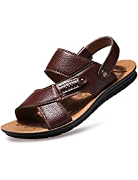 Amazon.it  sandali in pelle - 708519031   Sandali   Scarpe da uomo ... 36e864f61a2
