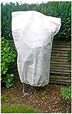 com-four® Pflanzenschutzsack aus Gartenvlies zum Schutz vor Witterung und Tieren, ca. 1,20 x 1,80 m (01 Stück - Schutzhaube)