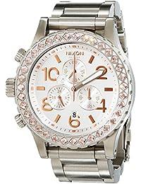 Nixon Unisex-Armbanduhr 42-20 Chrono Chronograph Quarz Edelstahl beschichtet A037502-00
