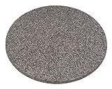 Werzalit Tischplatte Rund, granit, 70 x 70 x 2.6 cm, 50050067