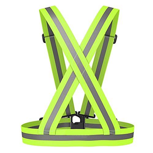 Seguryy Hohe Sichtbarkeit Reflektierende Sicherheit Weste zum Wandern, Joggen, Laufen, Radfahrer, Wanderer und Biker (1) -