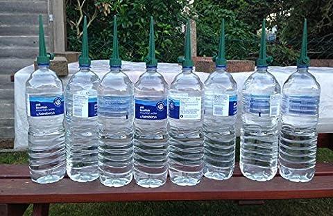 Garden Mile 8 X Pflanze Flaschenverschluss Bewässerung Stachel Leichter Saatgut