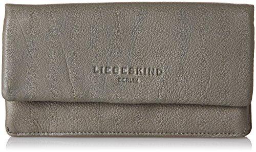 Liebeskind Berlin Damen Slamw7 Core Geldbörse, Grau (Rock Grey), 4x10x19 cm