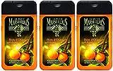Le Petit Marseillais Hombre Gel de Ducha Cuerpo y Cabello Bois D'Orange y argán botella de 250 ml - juego de 3