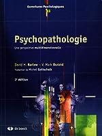 Psychopathologie - Une perspective multidimensionnelle de David H. Barlow