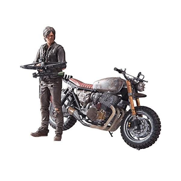 Walking Dead 14516 TV Dixon with New Bike Action Figure Box Set 1