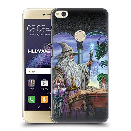 Head Case Designs Offizielle Ed Beard Jr Botschafter Drachen von Dem Zauberer Fantasie Ruckseite Hülle für Huawei P8 Lite (2017)