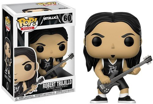 Funko Pop Robert Trujillo (Metallica 60) Funko Pop Cantantes y Músicos