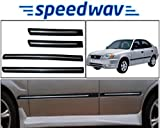 #7: Speedwav Side Beading Chrome Plated BLACK - Hyundai Accent