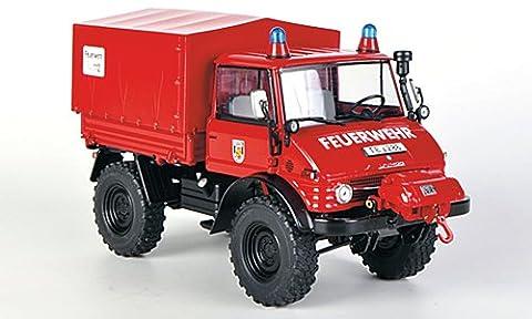 weise-toys 2011 Unimog 406 (U84) mit Seilwinde - Feuerwehr -
