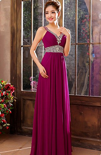 Drasawee - Robe - Taille empire - Femme Violet