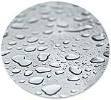 Transparente Tischdecke Top Qualität Glasklar Folie von d-c-Fix, LFGB Lebensmittelecht, Rund Oval Größe Wählbar (Oval 130x180 cm - 0.2 mm)