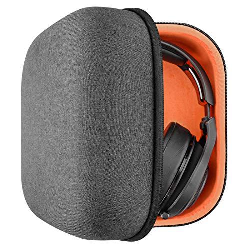 Headphones Case for AKG K701, Q701, Beyerdynamic DT990, DT880 Pro, SHURE SRH840, SRH440, SHR550, SHR940 and More/Full Size Hard Large Headphone Carrying Case/Travel Bag